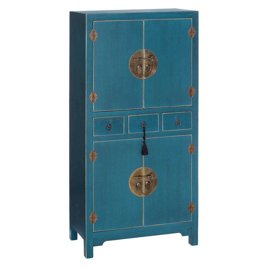Armario Oriental Azul Barato Te Imaginas