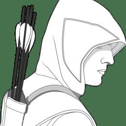 Confucius Tireur archer