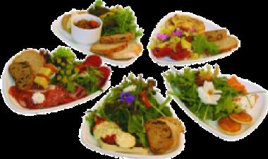 5 petites assiettes gourmandes