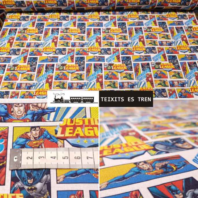 Superman Marvel La Liga de la Justicia