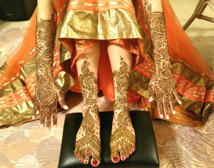 Tejal Henna Sari Draping 407 415 7994 Orlandos Best