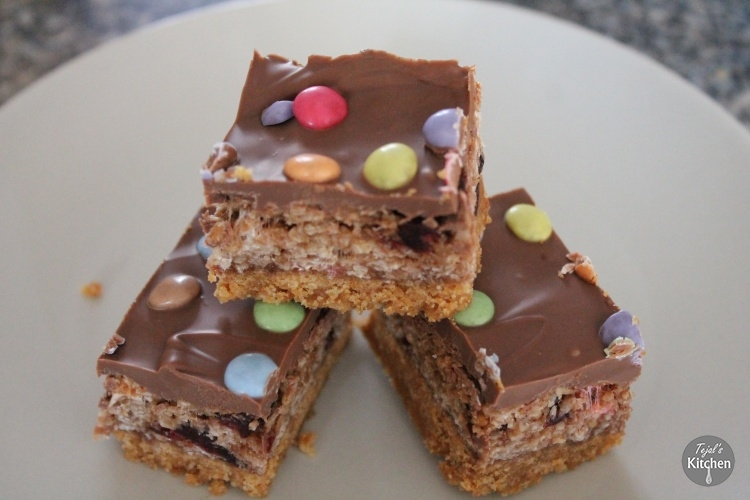 Chocolate Oat Biscuit Bar