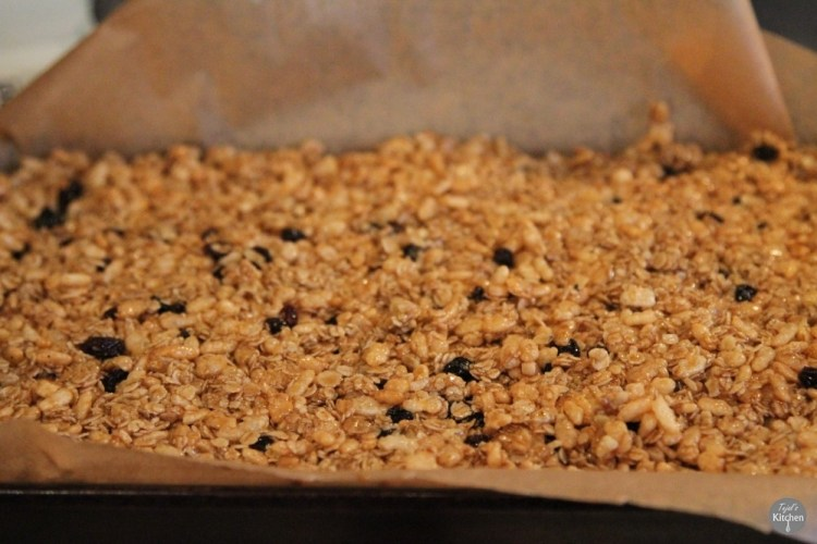 Oat Cereal Bars