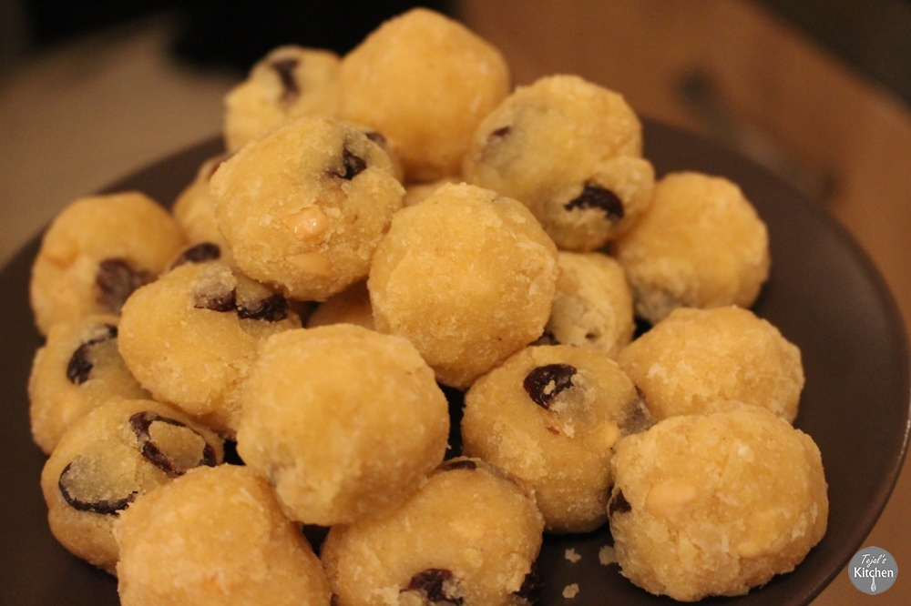 Rava Ladoo Recipe