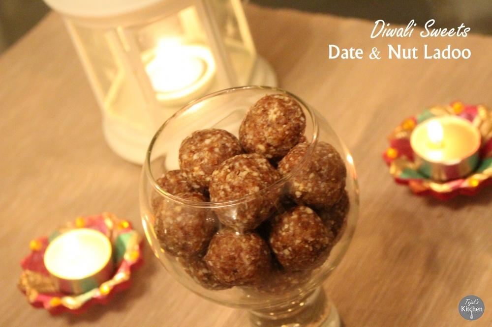 Date & Nut Ladoo - Diwali Sweets