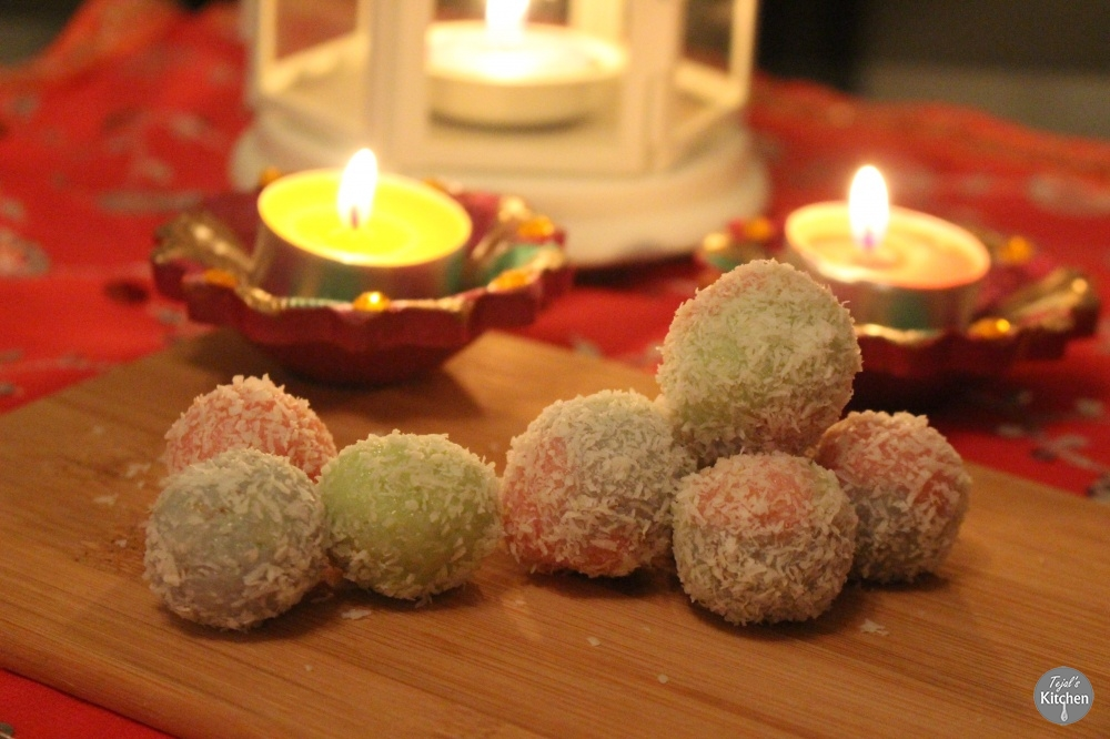 Coloured Coconut Balls
