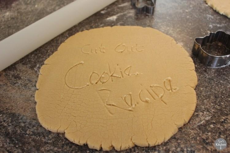 Cut out Sugar Cookie Hello Kitty Recipe