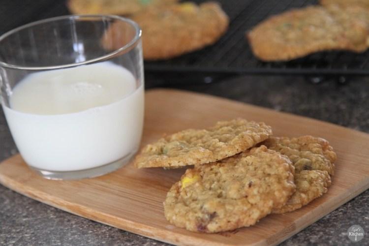 Oat M&M/Smarties Cookies