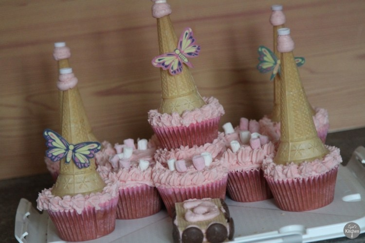Princess Castle Tear Share Cakes