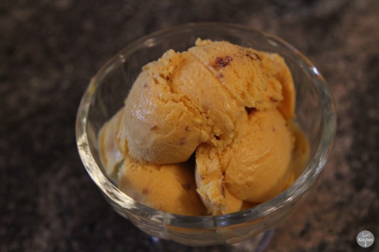 Mango Choc chip Ice Cream