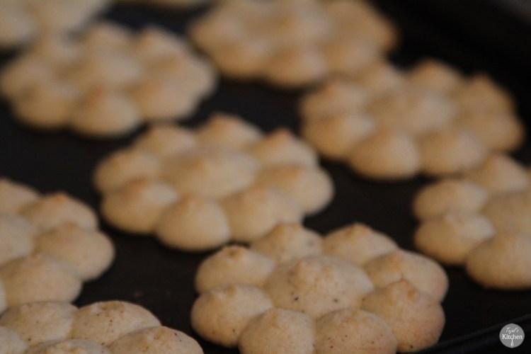 Spiced Spritz Biscuits