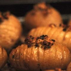New Potato Garlic Herb Hassle backs