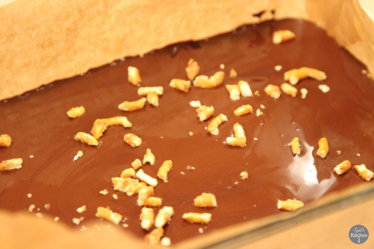 Pretz-Nut Chocolate Bars