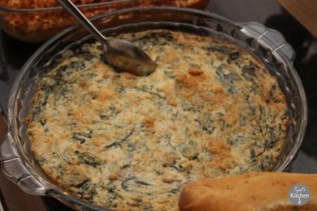 Spinach Aritchoke Dip