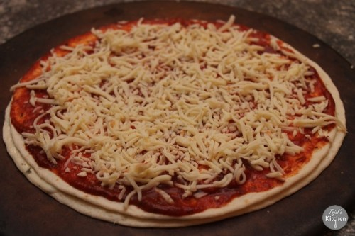 Double Decandance Style Pizza