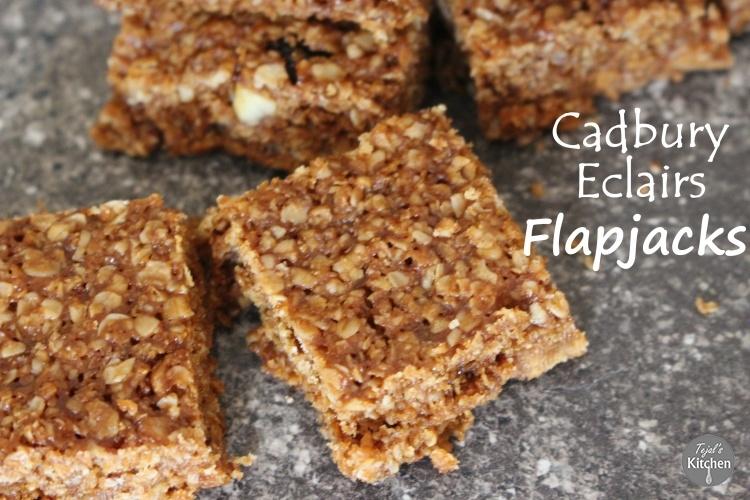 Cadbury Eclairs Flapjack