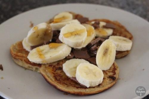 Wholemeal Eggless Pancakes
