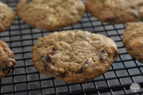 Cranberry White Chocolate Oat Cookie