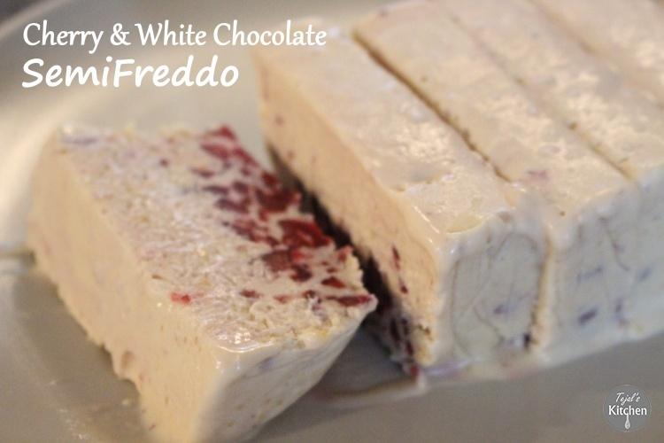 Cherry White Chocolate SemiFreddo
