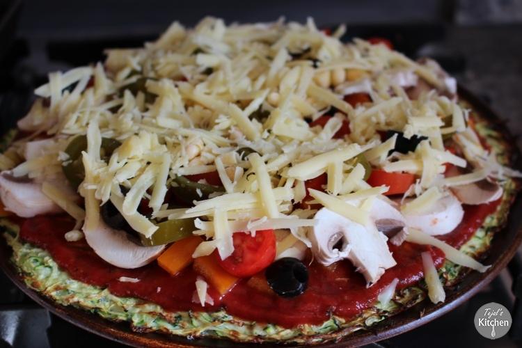 Courgette Pizza recipe