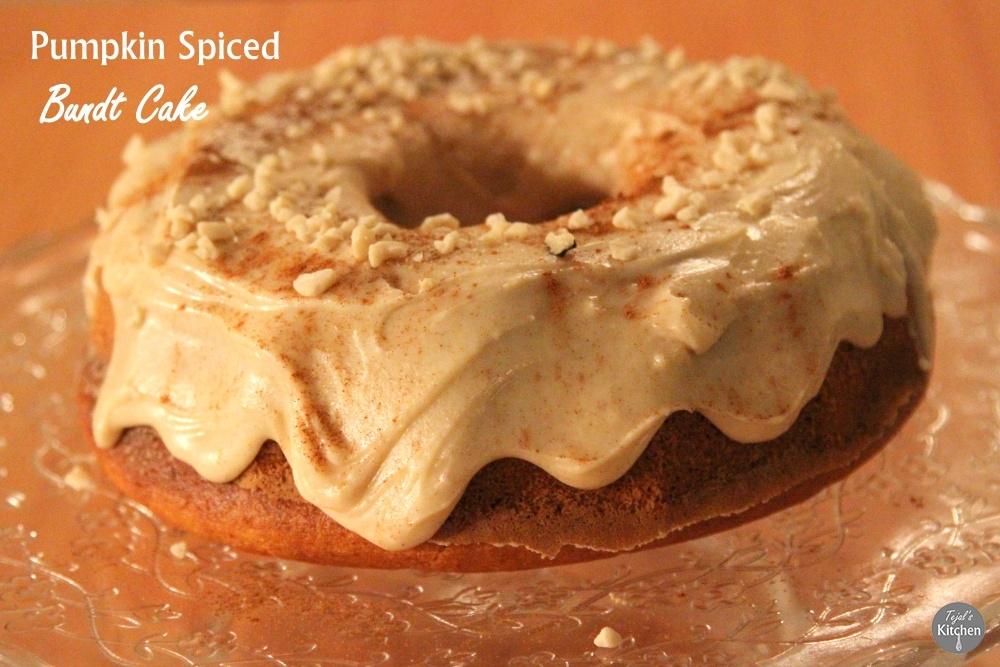 Pumpkin Spiced Bundt Cake