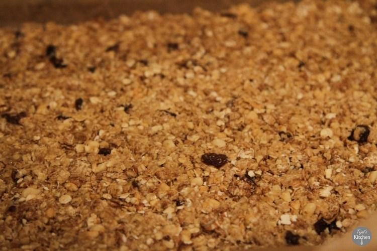 Peanut Butter Muesli Bars