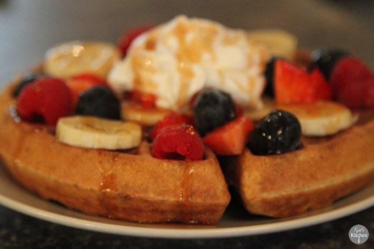 Buttermilk Healthy Waffles