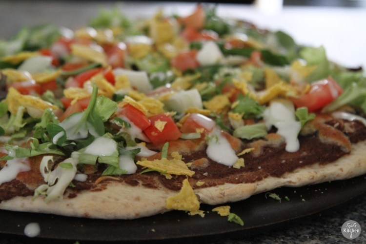 tostada tortilla tostada pizza cpk inspired tejals kitchen