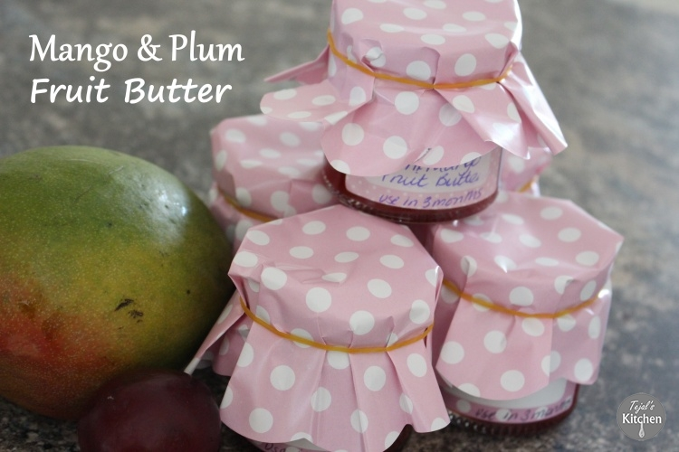 Mango & Plum Fruit Butter