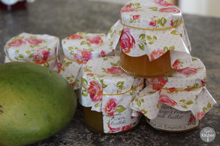Mango Pineapple Fruit Butter
