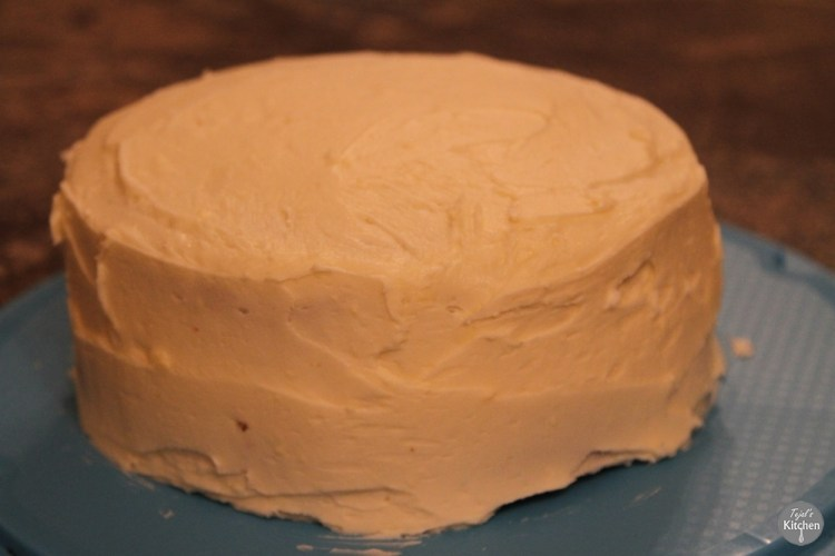 Iced Carrot Baby Cake