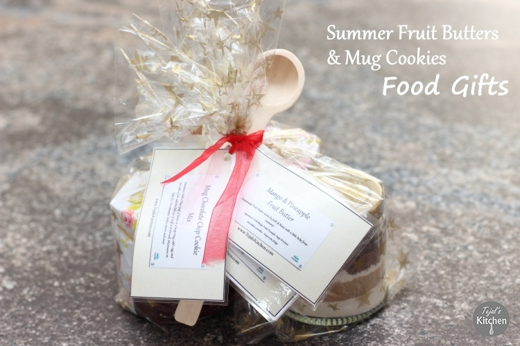 Summer Fruit Butters & Mug Cookie Gifts