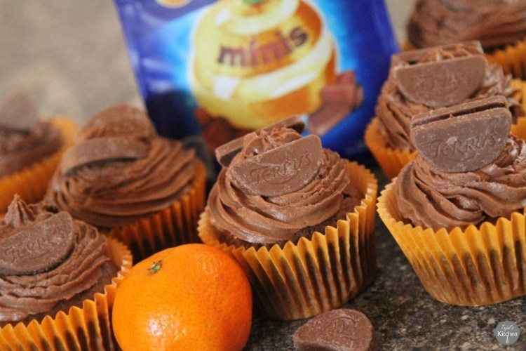 Terry Orange Cupcakes