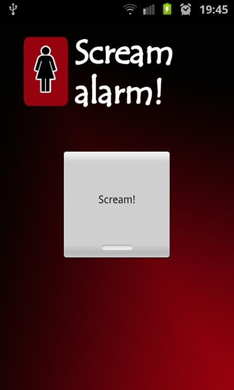 Scream Alarm