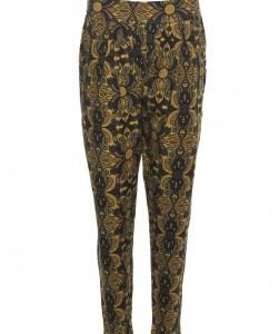LaLamour Pants Orient Black/Ochre front