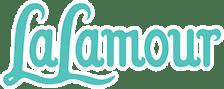 Logo LaLamour voor yoga kleding bij teja yoga