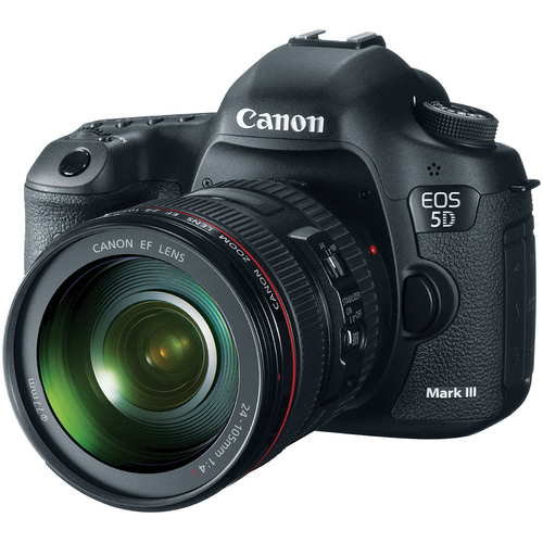 Canon 5D MKIII Announced