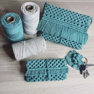 KIT Bolso WEAVING RULES MACRAMÉ