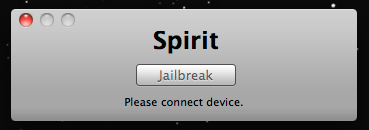 ipad jailberak spirit