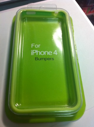 iPhone Bumper Green