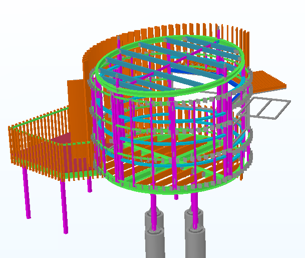 Steel Structure for Life saving Club