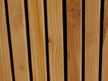 Bardage Douglas Faux Claire Voie Vertical 44 X 115 Mm Tekabois