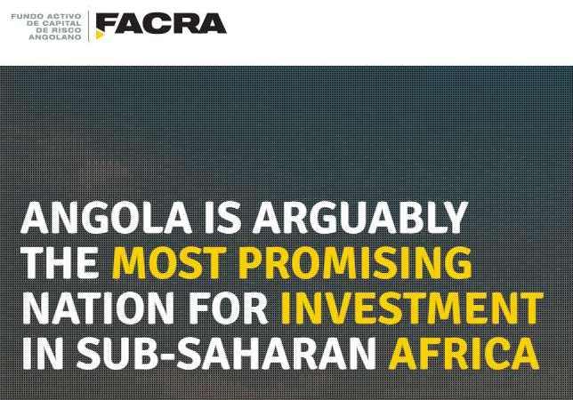 Nigeria needs to copy Angola's FACRA venture capital model