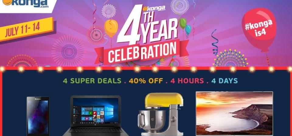 Nigeria's Online Mall Konga.com is 4!