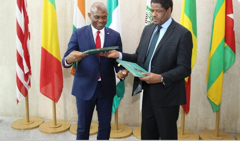 ECOWAS Signs MOU with Tony Elumelu Foundation to Promote Entrepreneurship