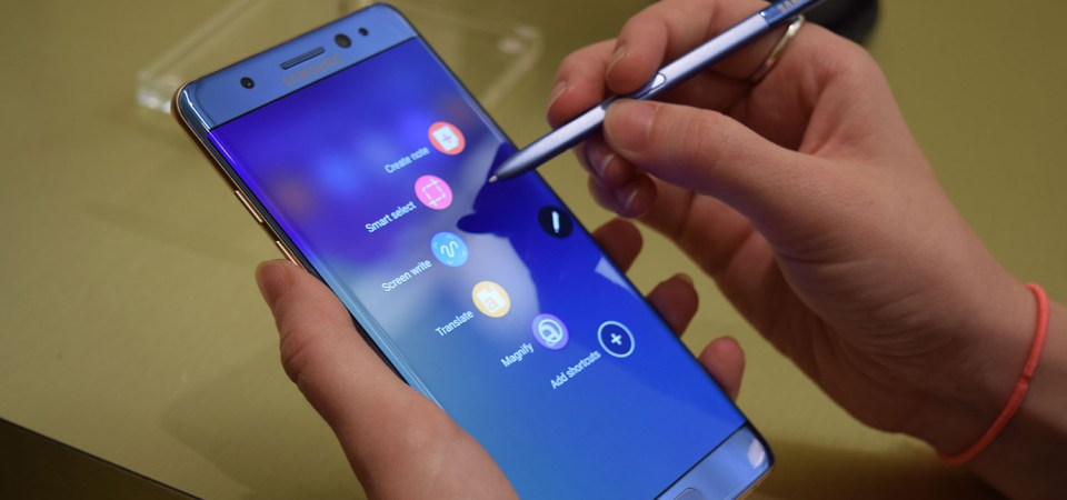 Samsung pulls Galaxy Note 7 out of markets