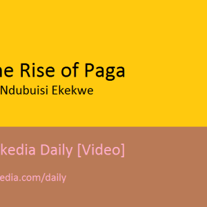The Rise of Paga [Video]