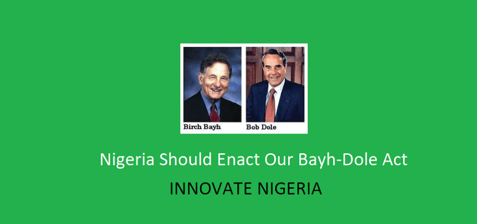 Why Enacting The Act That Made Google Possible Will Boost Innovation In Nigeria