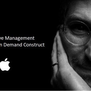 Applying Steve Jobs' Mutative Management System In Your Firm