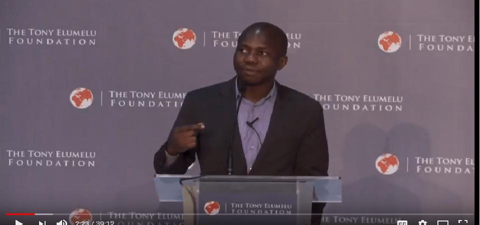 Selected Ndubuisi Ekekwe Public Speeches